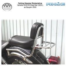 Fehling Sissybar Rückenlehne für Yamaha XVS125 Drag Star (VE01) 2000-