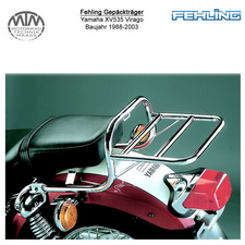 Fehling Gepäckträger für Yamaha XV535 Virago 1988-2003