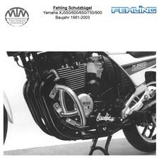 Fehling Motorschutzbügel für Yamaha XJ550/600/650/750/900 1981-2003