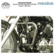 Fehling Schutzbügel für Yamaha XVS650 Drag Star (4VR/4XR) 1996-2003