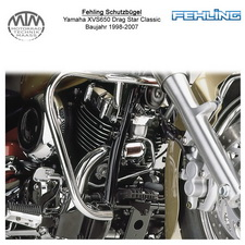 Fehling Schutzbügel für Yamaha XVS650 Drag Star Classic 1998-2007