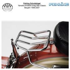 Fehling Rearrack für Yamaha XVS650 Drag Star Classic 1998-2007