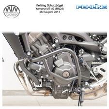 Fehling Motorschutzbügel für Yamaha MT-09 (RN29) 2013- in schwarz