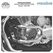 Fehling Motorschutzbügel für Yamaha XJ900S Diversion (4KM) 1994-2003
