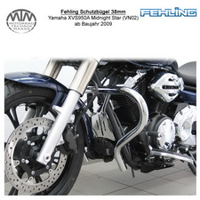 Fehling Schutzbügel 38mm für Yamaha XVS950A Midnight Star (VN02) 09-