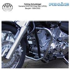 Fehling Schutzbügel 30mm für Yamaha XVS1100 Drag Star (VP05) 99-02
