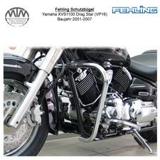 Fehling Schutzbügel 30mm für Yamaha XVS1100 Drag Star Classic (VP16) 01-07