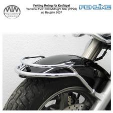 Fehling Reling für Kotflügel vorne für Yamaha XVS1300 Midnight Star (VP26) 2007-