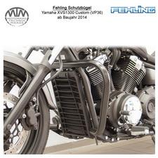 Fehling Schutzbügel 38mm für Yamaha XVS1300 Custom (VP36) 2014- in schwarz