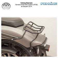 Fehling Rearrack für Yamaha XVS1300 Custom (VP36) 2014- in schwarz