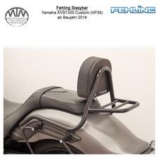 Fehling Sissybar für Yamaha XVS1300 Custom (VP36) 2014- in schwarz