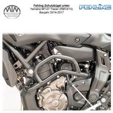 Fehling Schutzbügel unten für Yamaha MT-07 Tracer (RM14/15) 14-17 in schwarz