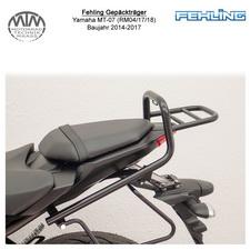 Fehling Gepäckträger für Yamaha MT-07 (RM04/17/18) 14-17 in schwarz