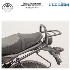 Fehling Gepäckträger für Yamaha XSR700 (RM11/12) 16- in schwarz
