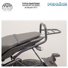 Fehling Gepäckträger für Yamaha MT-09 (RN43) 17- in schwarz