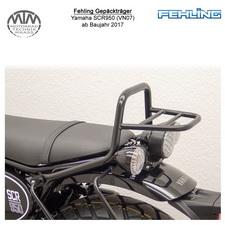 Fehling Gepäckträger für Yamaha SCR950 (VN07) in schwarz