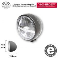 Highsider LED Hauptscheinwerfer 5 3/4 Zoll Jackson schwarz