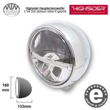 Highsider LED Hauptscheinwerfer 5 3/4 Zoll Jackson silber
