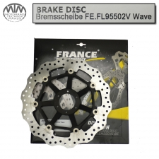 France Equipment Wave Bremsscheibe vorne 310mm Honda CBR1100XX Super Blackbird (SC35) 1997-1998