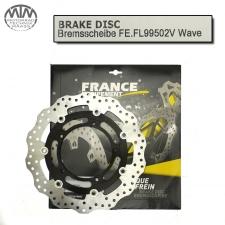 France Equipment Wave Bremsscheibe vorne 310mm Yamaha YZF-R1 (RN19/RN22) 2007-2014