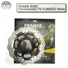 France Equipment Wave Bremsscheibe vorne 310mm Suzuki GSX-R750W 2005-2008